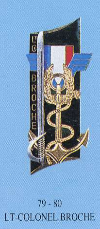Promotion Lieutenant Colonel Broche
